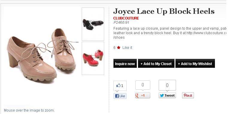 joyce lace up