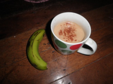 Banana and Coffee